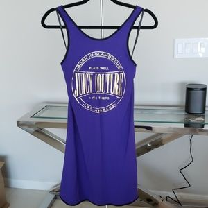 Juicy Couture Graphic Jersey Dress
